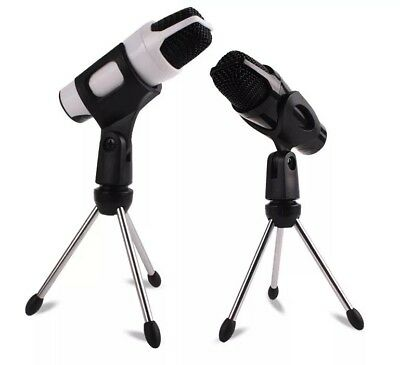 Mini Stand Tripod Audio Recording For Computer PC Phone Desktop mic holder