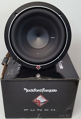"""Rockford Fosgate P2D4-8 Punch 8"""" Car Subwoofer With DVC 4-Ohm Voice EX-DEMO#372"""