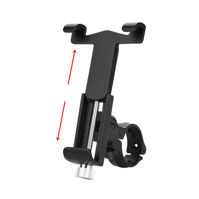 Black Aluminum ATV Motorcycle Handlebar GPS Phone Holder Mount Clamp Universal
