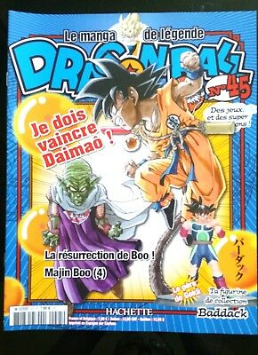 Le manga de légende; Dragon Ball n°45 - Edition Hachette -