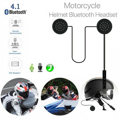 Bluetooth Motorcycle Helmet Headset Headphone 4.2 Handsfree Music Call Control