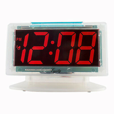 RED LED ALARM TABLE CLOCK 1.2 In Large Numbers Easy Read Clear Jumbo Display