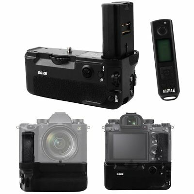 Meike MK-A9 Pro Vertical Battery Grip + 2.4GHz Remote Control for Sony A9 A7III
