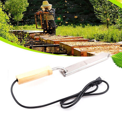Stainless Steel Electric Scraping Honey Knife Beekeeping Wax Uncapping Tool