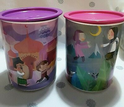 Tupperware One Touch Canisters