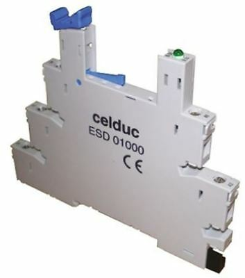 Celduc Relay Socket for use with SLA Series, SLD Series