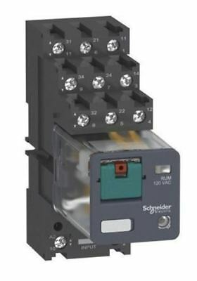 Schneider Electric 11 pin Relay Socket, DIN Rail, <250V for use with RUZ Series
