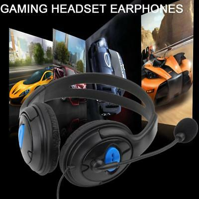Hot Gaming Headset Stereo Surround Headphone 3.5mm Wired With Mic For PS4 Laptop