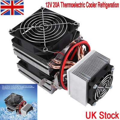Mini 12V Semiconductor Refrigeration Cooling Device Thermoelectric Cooler
