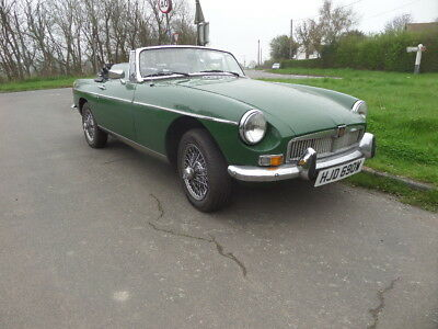 Oct1980 Classic MGB ROADSTER Very Low Mileage, Only 19,174 miles in Essex