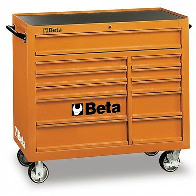 Commode Porte Outils 11 Tiroirs Orange Beta C38 O