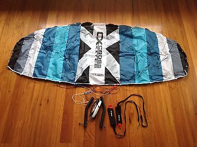 Trainer Kite - Reverse Launchable. On Handles. Complete With Lines & Bag