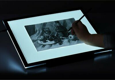 A4 Einstellbar Helligkeit LED Lichttisch Leuchttablet Tracing Lightpad Light Box