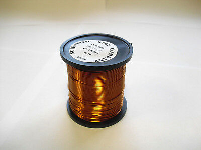 ENAMELLED COPPER WIRE - COIL WIRE,SOLDERABLE MAGNET WIRE - 250g - 0.375mm 28 swg