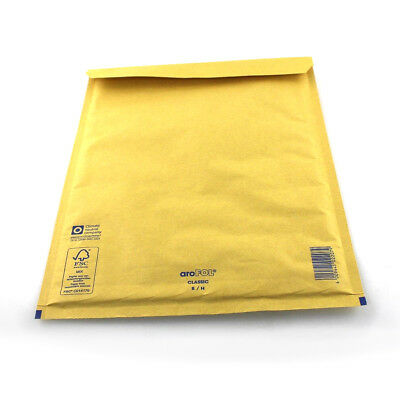 Gold Padded Bubble Envelopes Bags Postal Wrap - All Sizes - Various Quantities