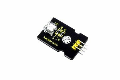 Keyestudio 8mm Yellow LED Module KS0234 Arduino 5V DC Pi Piranha Flux Workshop