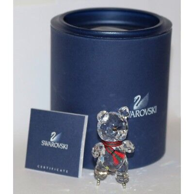 Swarovski Crystal / Kris Bear On Skates 7637 000 002 / Orsetto Con Pattini / Box