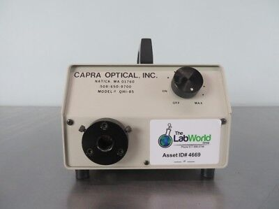 Capra Optical Fiber Optic Illuminator QHI-85 with Warranty SEE VIDEO
