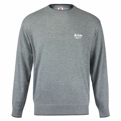 08eea27d93fe2 Lee Cooper Homme Col Rond Sweat Pull Manches Longues Sport Décontracté