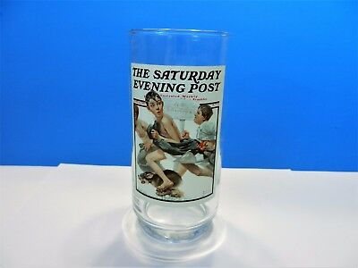 "Arby's Norman Rockwell ""No Swimming"" Collectors Series Glass"