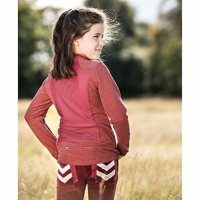 Horseware Kids Technical Layering Top Junior Baselayer Compression Armor Thermal