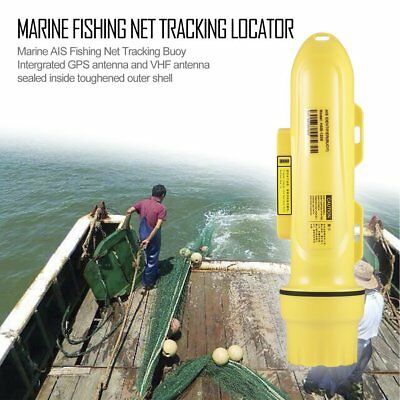 Matsutec Double Waterproof 12nm Marine AIS Fishing Net Tracking Buoy LocatorBE