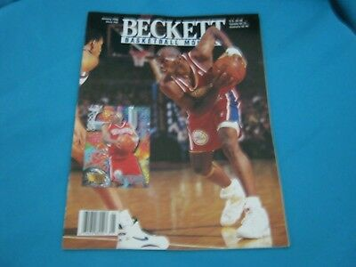 Basketball Beckett Monthly January 1996 Issue #66 Jerry Stackhouse / A Mcdyess