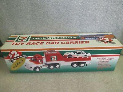 Seven Eleven 1996 Limited Edition Race Car Carrier-NIB