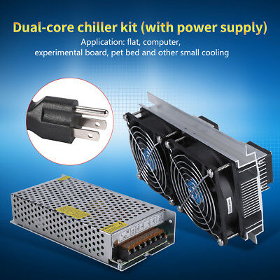 120W Semiconductor Thermoelectric Peltier Refrigeration Cooling Module Cooler