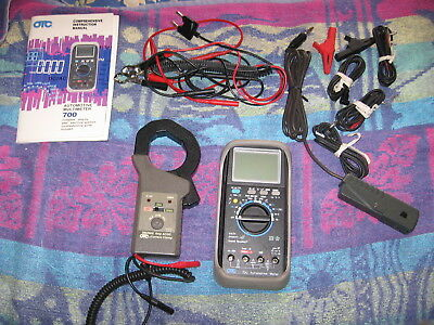 Otc 700 Multimeter And Otc Current Clamp 200/2000 Amps Used In Great Condition