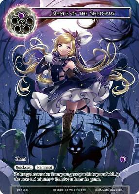 FOW TCG Dance of the Shadows RL1705-1 PROMO Force of Will ENG NEW UNPLAYED