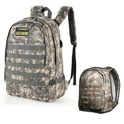 2018 New Game Playerunknown's Battlegrounds Backpack PUBG Level 3 Instructor Bag