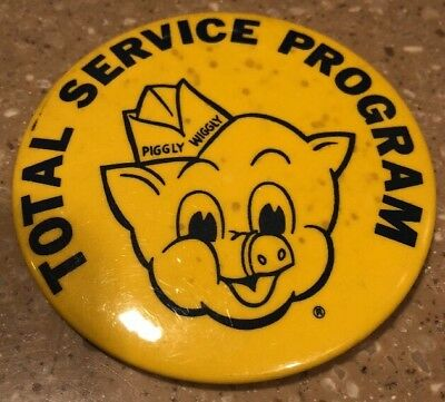 Piggly Wiggly Total Service Program Pin