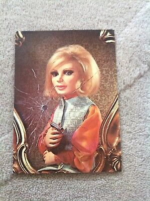 Old POSTCARD -  Thunderbirds - Lady Penelope