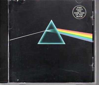 "Pink Floyd ""The Dark Side Of The Moon"" 1980 US Stock CD With Disc Made In Japan"