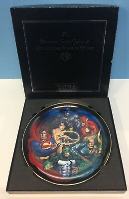 Warner Bros. WB Store Justice League Limited Edition Collector Plate BATMAN