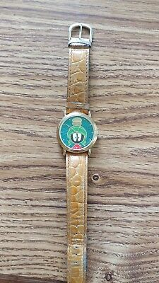 Vintage 1994 Armitron Looney Tunes Marvin The Martian musical watch