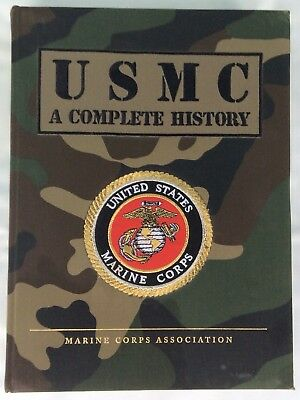 USMC: A Complete History (Hardcover 2002) United States Marine Corps Association