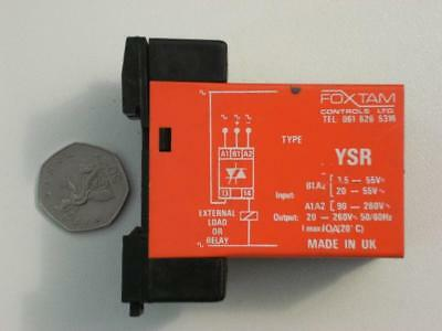 Solid State Relay by Foxtam controls  10A