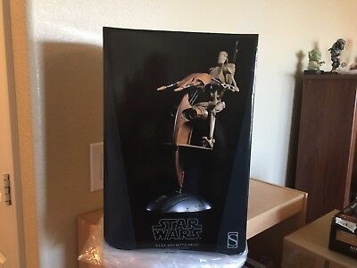 Sideshow Star Wars S.t.a.p. And Battle Droid Sixth Scale Figure Set. Sold Out!