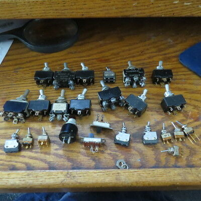 Used Lot Toggle Switches