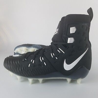info for 093a8 71766 Nike Force Savage Elite TD Men s Size 9 Football Cleats Black White 857063 -011