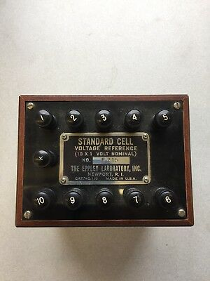 Eppley Standard Cell Voltage Reference Catalog# 110