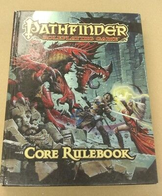 Pathfinder Roleplaying Game Core Rulebook Hardcover RPG 2009