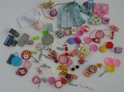 Large Lot of Vintage Barbie Tiny Accessories 96 Pieces
