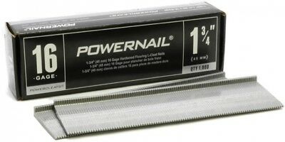 POWERNAIL 1-3/4 In. X 16-Gauge Powercleats Hardwood Flooring Nails (1000-Pack)
