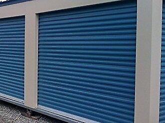 8 x 8 Janus 650 steel roll up storage  garage door