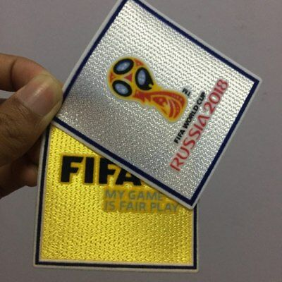 2018 Russia World Cup Set Of Velet FIFA Patch Badge Pièce Parche Remendo Flicken