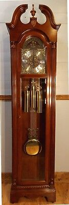Grandfather Clock-exc cond/Hermle WestChime/NATIONWIDE PERSONAL DELIVERIES