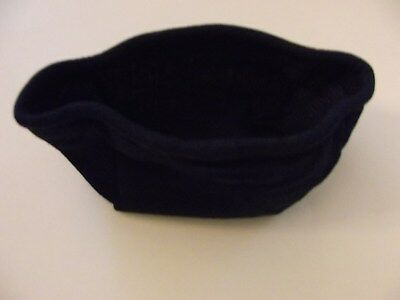 Longaberger Indigo Tea Basket Liner that also fits the Small Key - Brand New